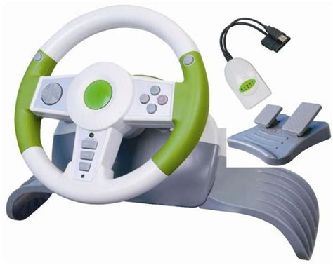 volante wireless xbox 360 kit volante steering wheel wireless xbox 360 wg imports