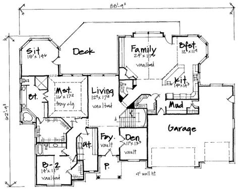 5 bedroom house plans design interior