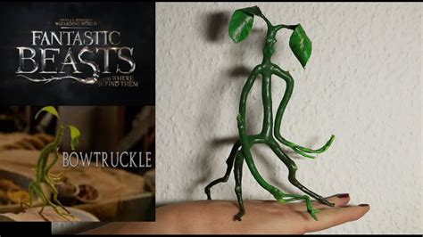 Bowtruckle pickett diy one of the fantastic beasts youtube