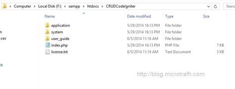 membuat file xml dengan codeigniter tutorial codeigniter 5 membuat crud dengan codeigniter