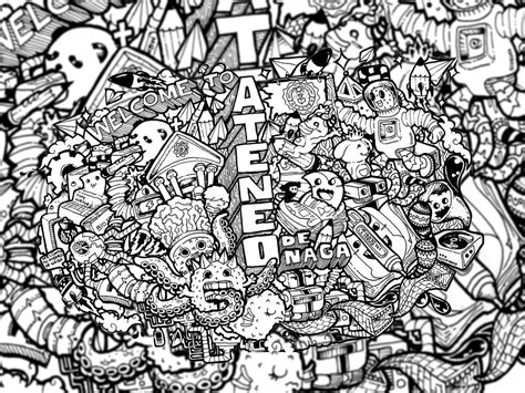 wallpaper doodle name doodle welcome to ateneo de naga iii by joshuavillaluna