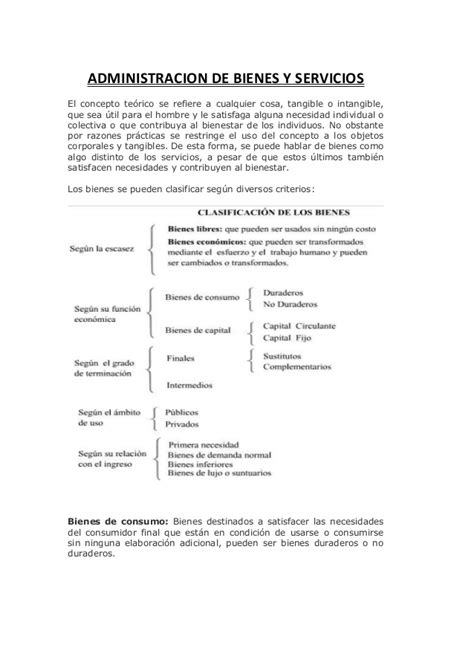 conceptos de administracion estrategica by manuel ricardo administracion de bienes y serviciossssss