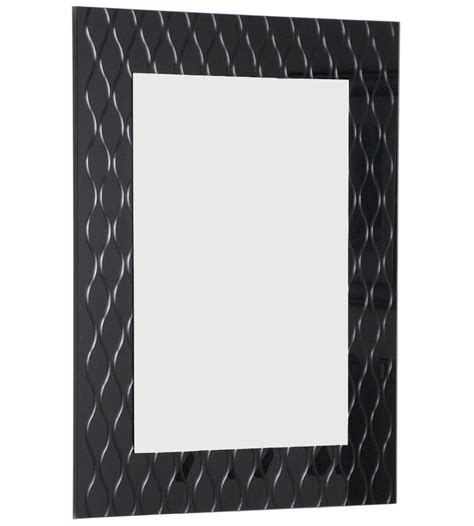 strands modern bathroom mirror in framed mirrors