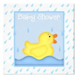 duck baby shower invitation rubber ducky blue baby shower invitation 13 cm x 13 cm