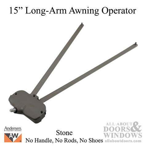 Awning Window Operator Replacement by Andersen Awning Operator A4 7082 Arm