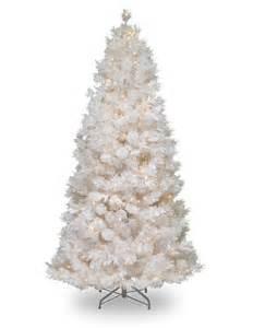 Slimline White Christmas Tree - 5 best pre lit white christmas trees 2017 absolute christmas