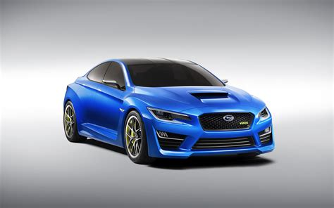 2014 Subaru Wrx Concept Wallpaper Hd Car Wallpapers