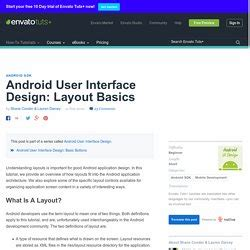 android good layout design android gui pearltrees