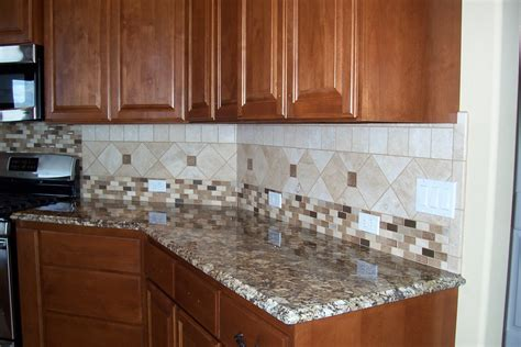 kitchen backsplash tile blue mahogany wood kitchen storage