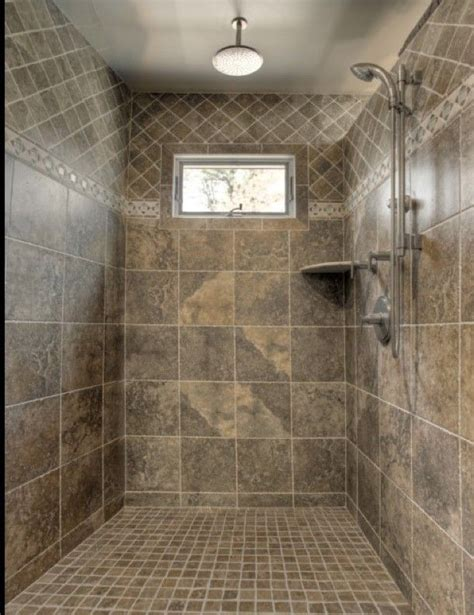 Ceramic Tiling A Shower by Bathroom Designs Classic Shower Tile Ideas Small Window