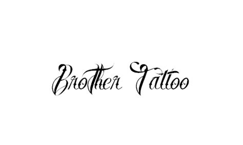 brother tattoo font generator a roundup of awesome free cursive fonts creativevore