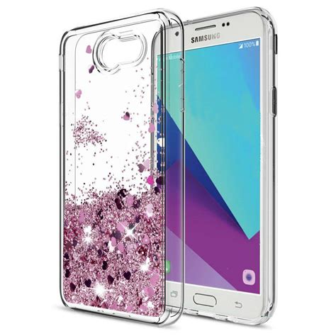 samsung galaxy   waterfall glitter phone case cover