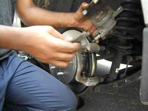 remove brake rotor 1988 subaru justy replacing rear brake pads and rotors on 2010 subaru