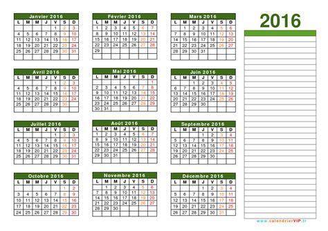 ã E 2016 Calendrier Calendrier 2016 224 Imprimer Gratuit En Pdf Et Excel