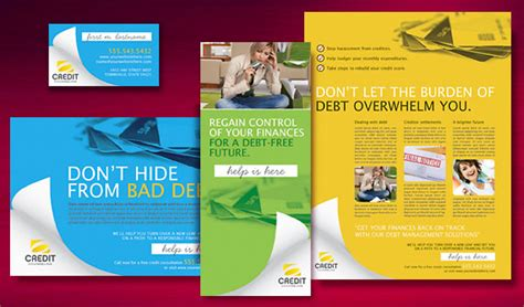 Credit Card Brochure Template Debt Management 171 Graphic Design Ideas Inspiration Stocklayouts
