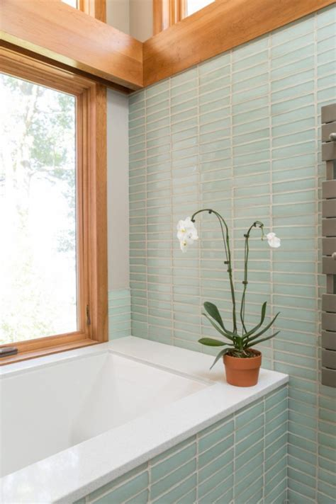 recycled glass tiles bathroom sustainable bathroom ideas decoration