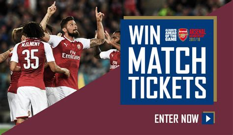 arsenal game tickets membership rewards win tickets to watch arsenal