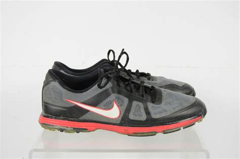 shoes size 12 nike hyperfuse lunarlon black gray lace up golf shoes size 12