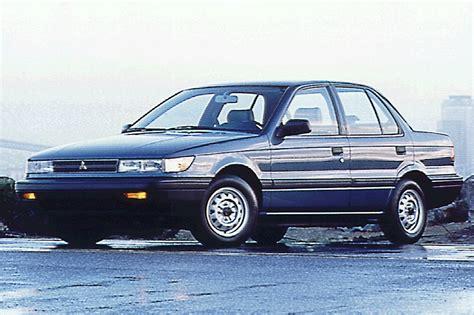 mitsubishi mirage 1992 1990 92 mitsubishi mirage consumer guide auto
