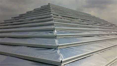 Aluminium Foil Untuk Pelapis Atap Aluminium Foil Atap Rumah Gedung Pabrik Peredam Panas