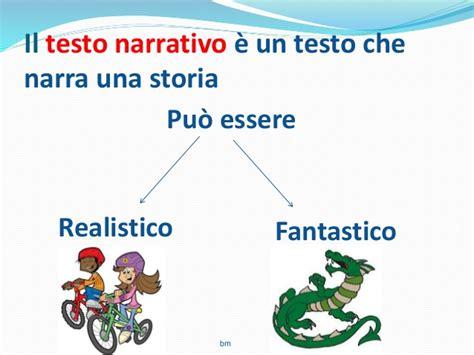 breve testo narrativo il testo narrativo 1 scuola primaria