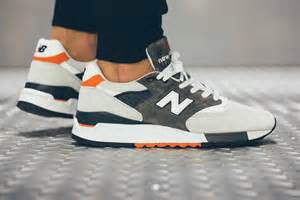 new balance 998 grey orange navy hypebeast