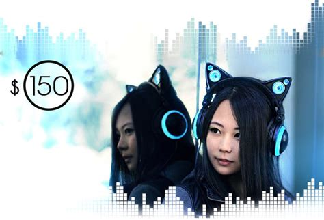Earmeccacom The Fusion Of Fashion Tech by Axent Wear Cat Ear Headphones The Fusion Of