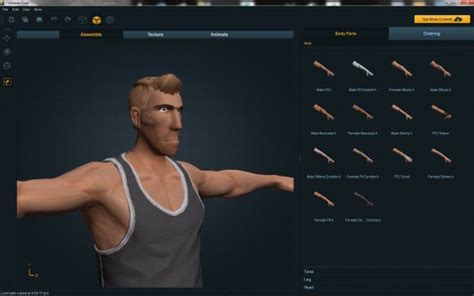 create 3d characters mixamo launches fuse universal character creator for steam graphicspeak