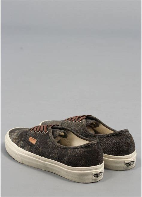 Vans California Stained Olive by Vans California Authentic Shoes Stained Olive Triads