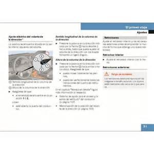 Mercedes Ml350 Manual Mercedes Manual Ml 350 Instrucciones De Servicio