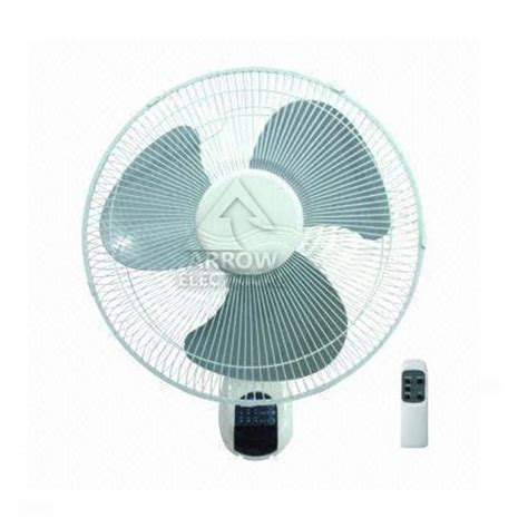 remote oscillating fan arrow 16 quot wall mounted fan remote controlled 3 speed
