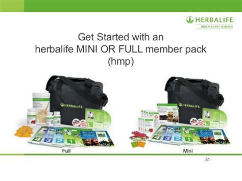herbalife member pack kit