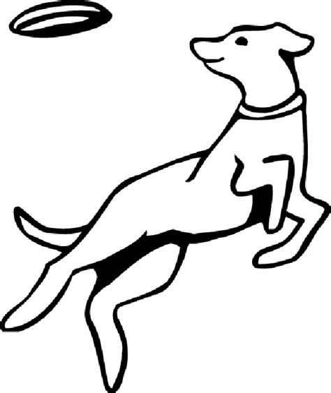 puppy playing coloring page dog playing drawing