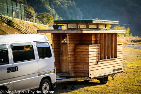 tiny house on wheels breathtakingly beautiful japanese tiny house on wheels