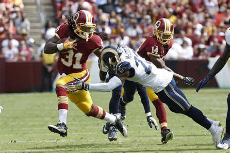 st louis rams washington redskins redskins vs rams the the bad and the page 2