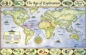 European Exploration Map by Exploration
