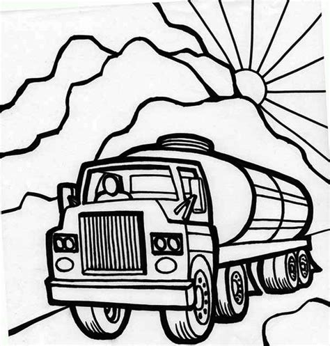 oil truck coloring page pin coloring page oil pump img 7643 on pinterest