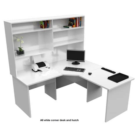 Corner Workstation Desk With Hutch Origo Corner Office Desk Workstation With Hutch Home Study For Sale Australia Wide Buy Direct