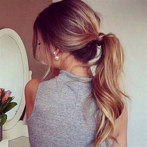 hair pony for hair 10 lovely ponytail hair ideas for long hair easy doing