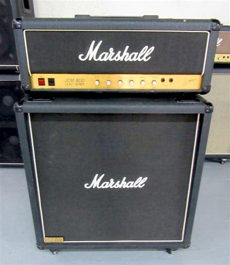 marshall jcm 800 cabinet for sale marshall half stack w jcm 800 2203 100w mk 2 4x12