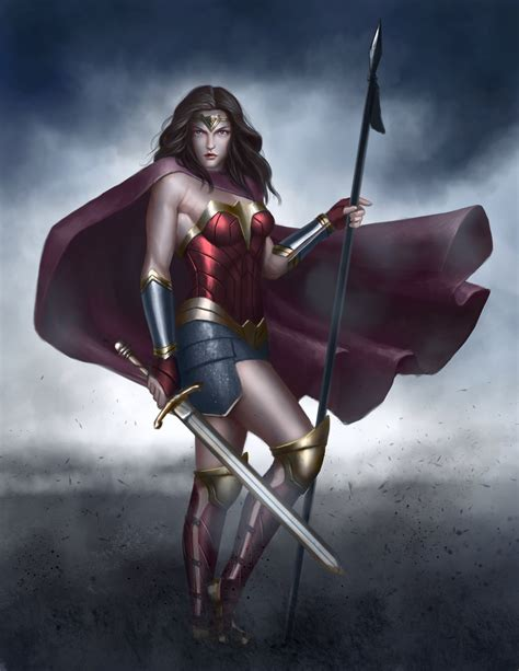 wonder woman the art wonder woman fan art by bladdneart on