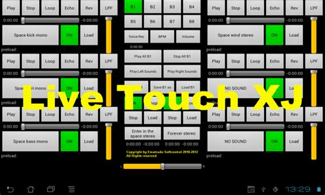 console dj android live touch xj loop dj remix console de apps f 252 r