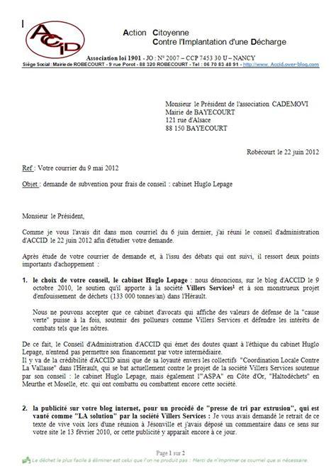 Lettre De Garantie Financiere Visa R 233 Union Du Conseil D Administration D Accid Subvention Demand 233 E Images Frompo
