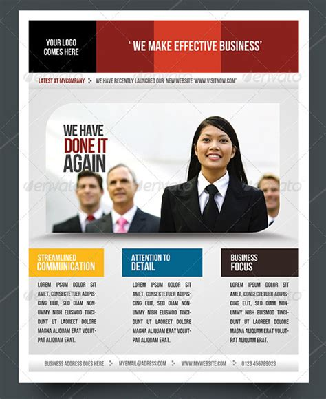 templates for a business flyer top corporate business flyer templates 56pixels com
