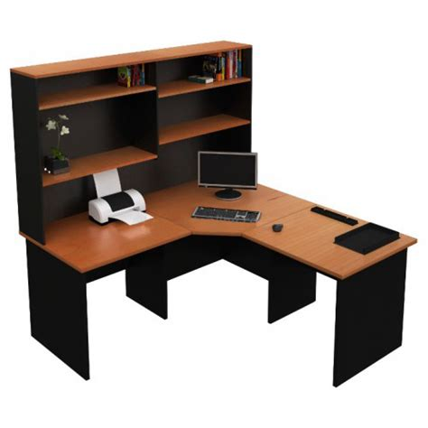 Origo Corner Office Desk Workstation With Hutch Home Corner Workstation Desk With Hutch