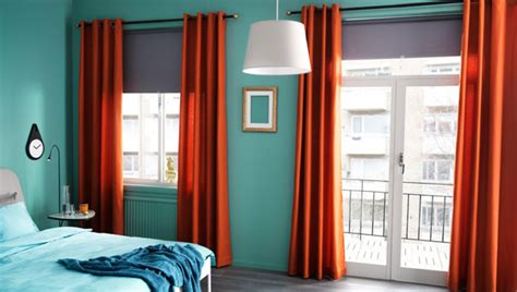 Spice Colored Curtains Decor Ikea Curtains Color Spice Things Up