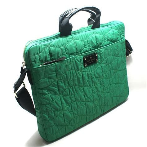 Emerald Bag by Kate Spade Chad 15 Signature Spade Quilted Emerald