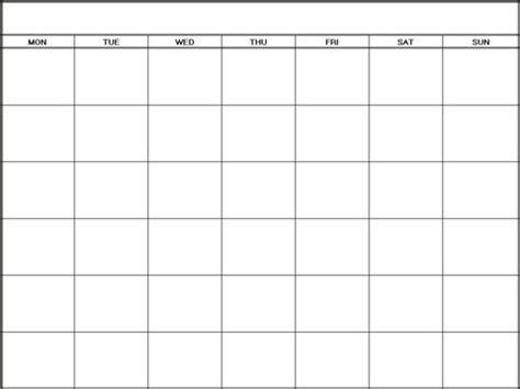 blank calendar template no download blank calendar monthly template 6