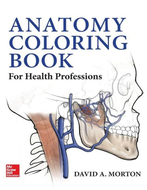 anatomy coloring book barnes and noble anatomy coloring book for health professions edition 1