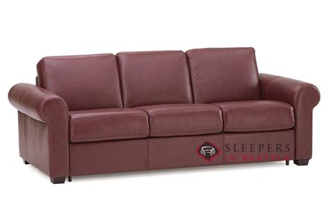 customize and personalize sleepover leather sofa by